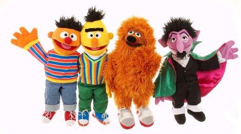 Sezamova ulice, Ernie, Bert